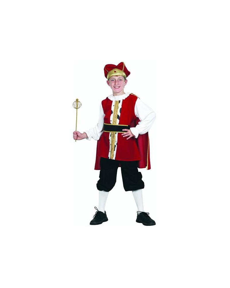 Strój dla dzieci król 130/140