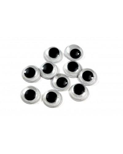 Ruchome oczka samoprzylepne 12mm