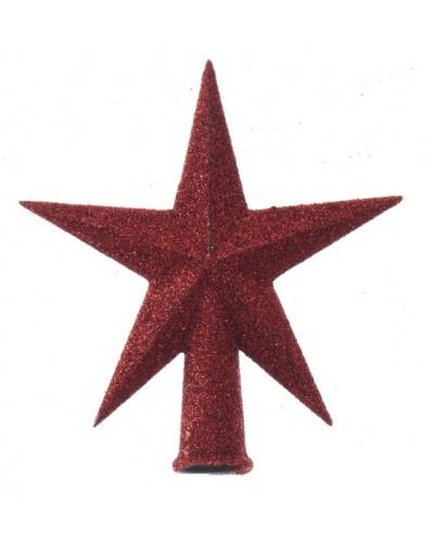 Czubek na choinkę Czerwona Gwiazda