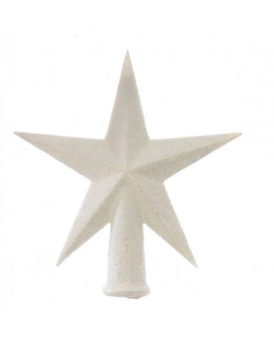 Czubek na choinkę Biała Gwiazda