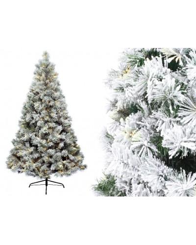 Sztuczna Choinka z lampkami LED Biała 210cm