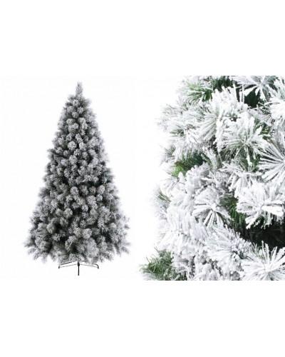 Sztuczna Choinka Ośnieżona Biała 210cm