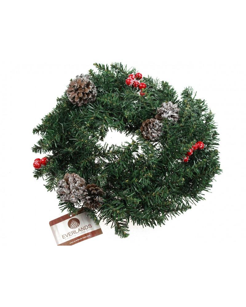 Wianek Jodła świąteczny 40cm