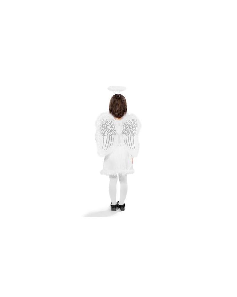 Strój Aniołka opaska + skrzydła