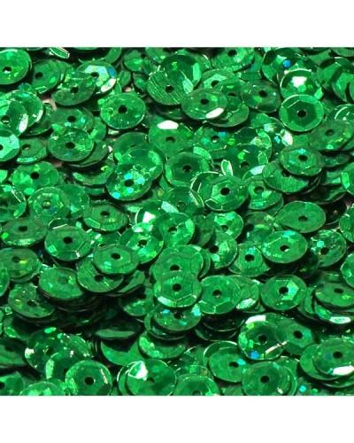 Cekiny łamane 6mm 15g laserowe zielone
