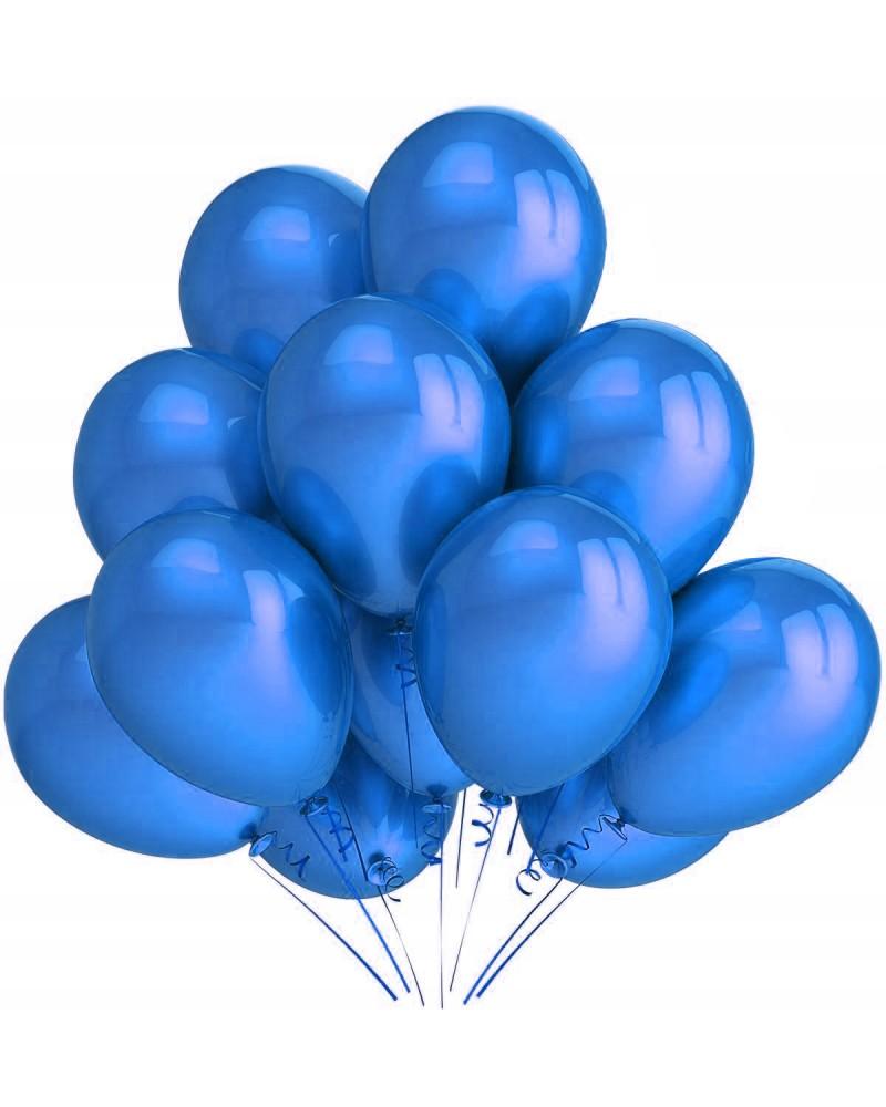 """Balony metaliczne 12"""" niebieskie"""