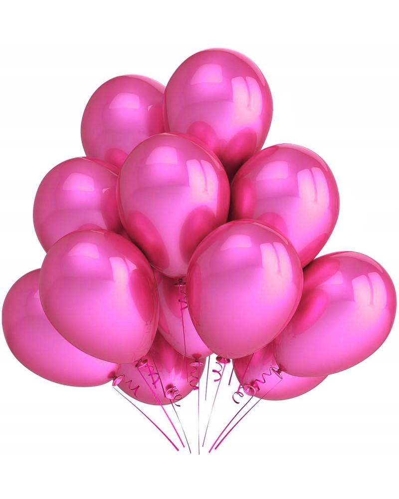 """Balony metaliczne 12"""" ciemno różowe"""