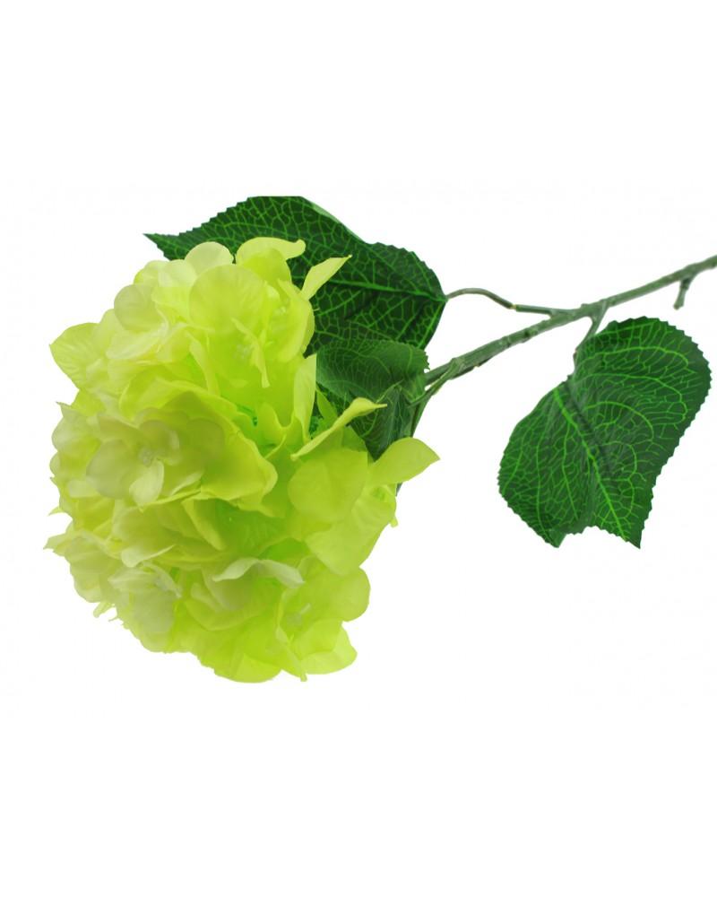 Hortensja w kolorze zielonym 88cm