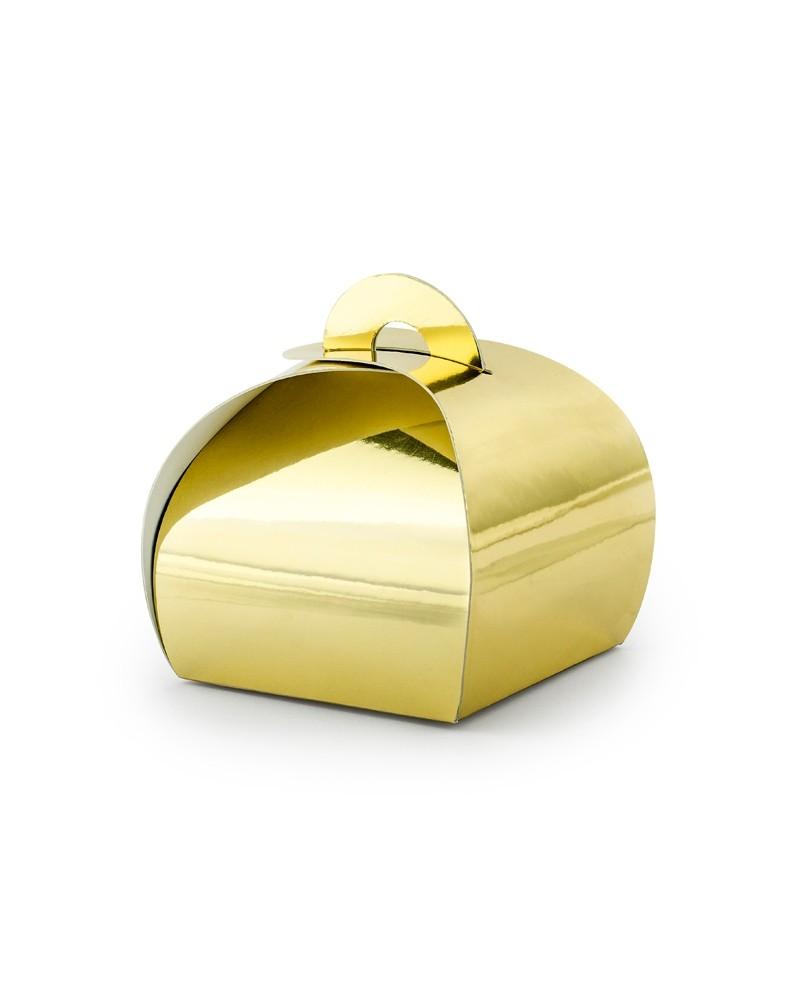 Złote pudełeczka ozdobne