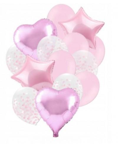 Zestaw na Urodziny Balony Różowe