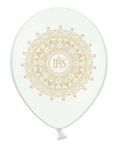 Balon na pierwszą Komunie Biały