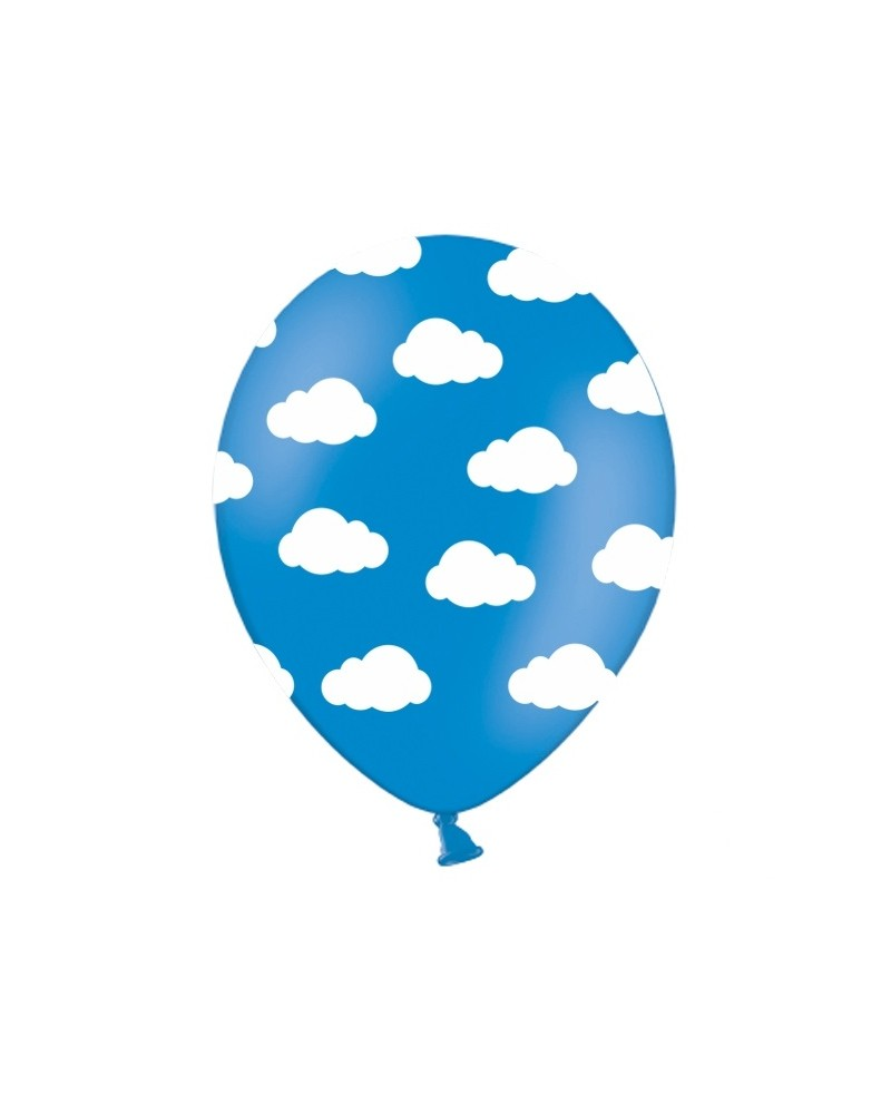 Balon Chmurki Niebieski