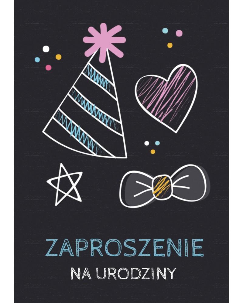 Zaproszenie na urodziny Czapeczki