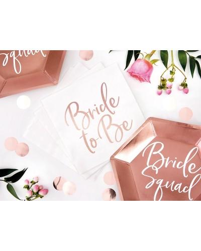 Serwetki na wieczór panieński Bride to Be