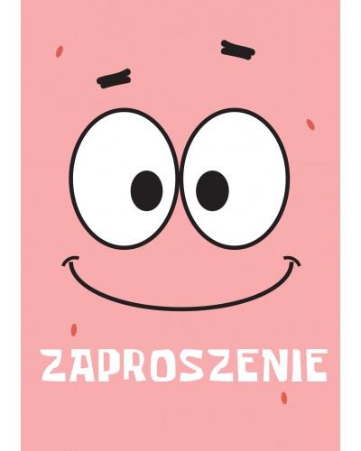 """Zaproszenie na urodziny Patryk """"Patrick"""""""
