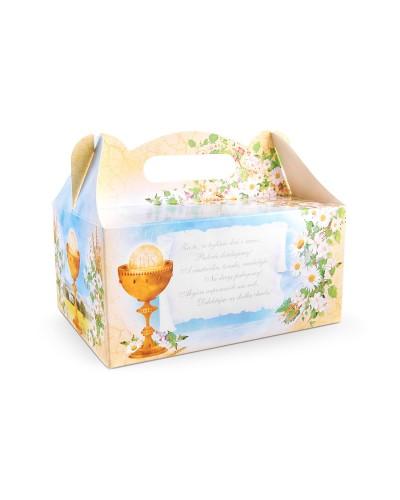 Pudełko na ciasto o charakterze komunijnym WZÓR 6