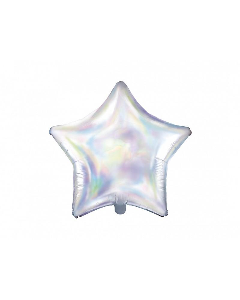 Balon foliowy opalizujący Gwiazdka