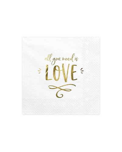 Serwetki All you need is love
