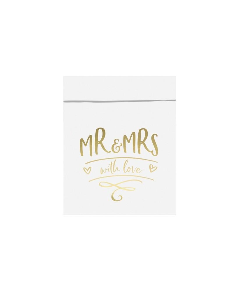 Torebki na słodycze Mr&Mrs