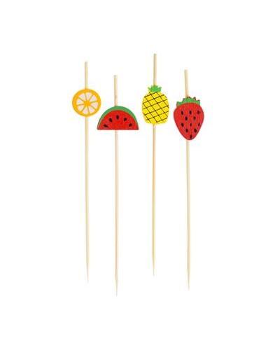 Pikery koktajlowe Tropikalne owoce
