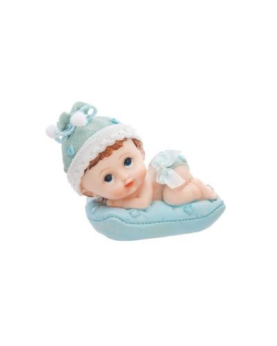 Figurka chłopczyk z poduszką
