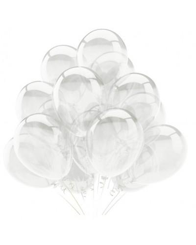 Balony krystaliczne na ślub, wesele, przyjęcie 10''