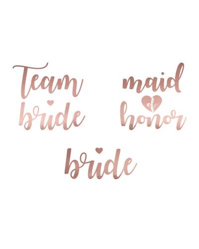 Tatuaże Team Bride Rose Gold