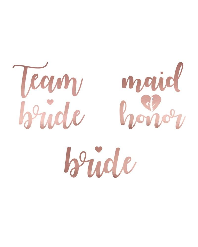 Tatuaże Team Bride Rose Gold