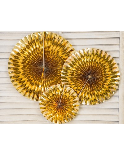 Rozety dekoracyjne złote