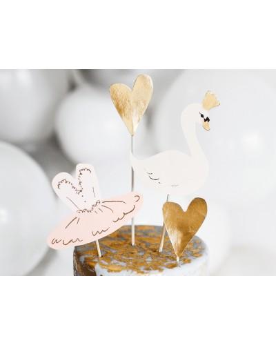 Toppery na tort łabędzie Lovely Swan