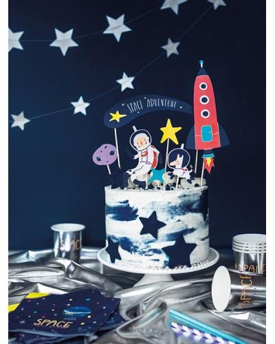 Topper na tort kolekcja Kosmos