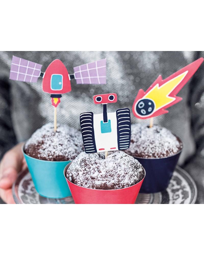 Zestaw do muffinek kolekcja Kosmos