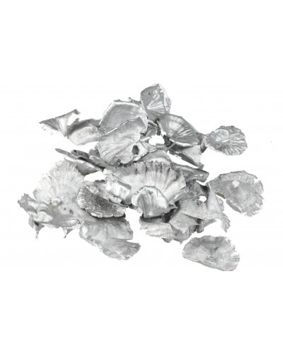 Grzyby suszone 50g srebrne, malowane