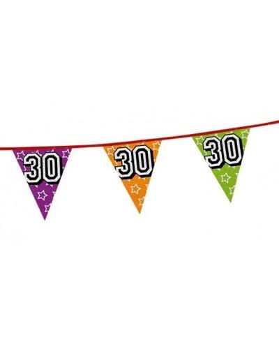 Baner Flagi na 30 Urodziny