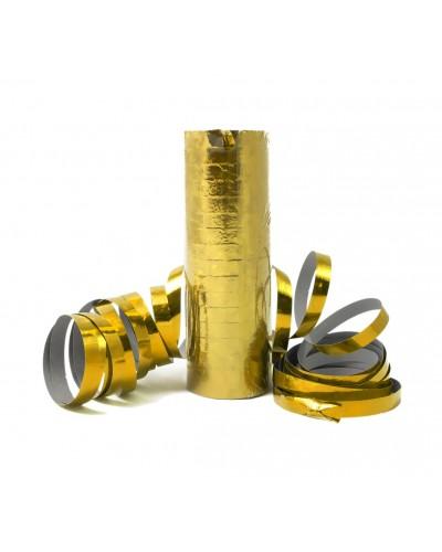 Serpentyna holograficzna złota