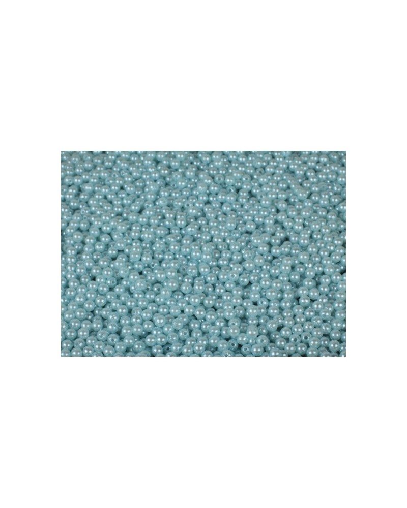 Koraliki 6mm błękitne