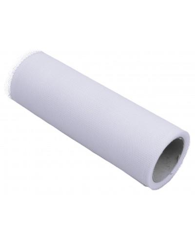 Tiul dekoracyjny 15cm biały