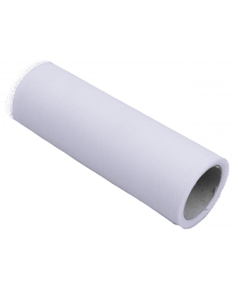 Tiul 15cm biały