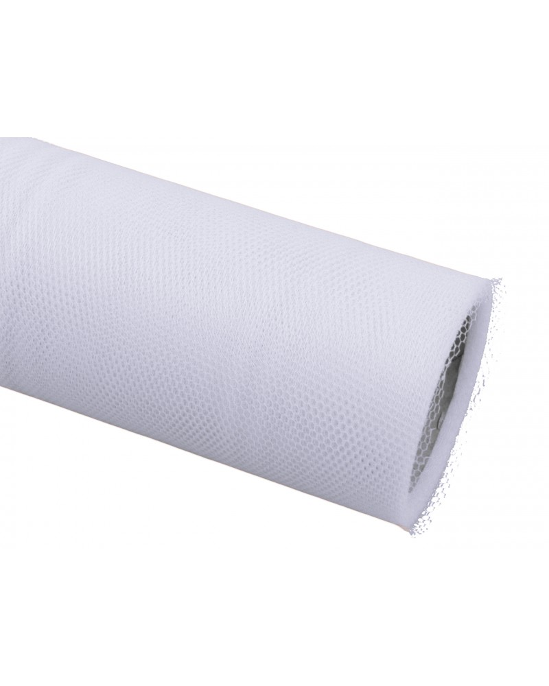 Tiul 30cm biały