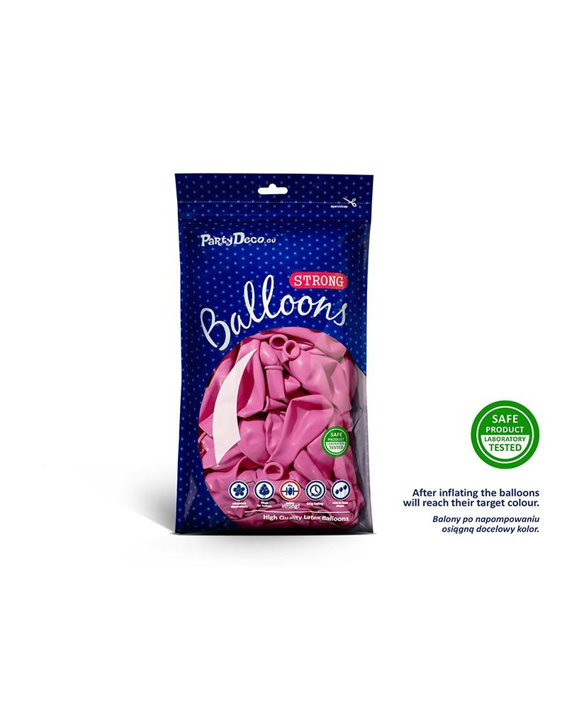"Balony pastelowe 10"" Różowe"