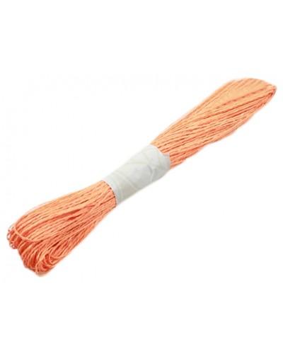 Dekoracyjny sznurek papierowy pomarańczowy
