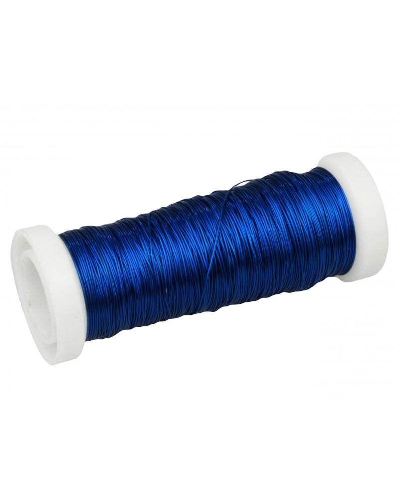 Drut florystyczny nawój niebieski