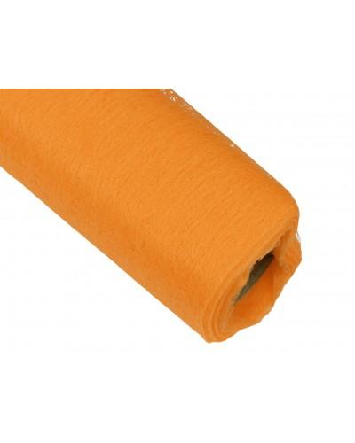 Flizelina 50cm Rolka pomarańczowa