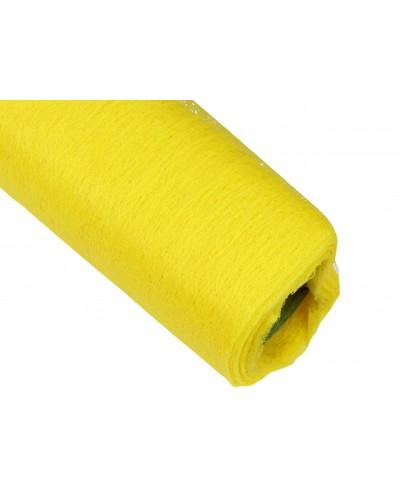 Flizelina 50cm Rolka żółta