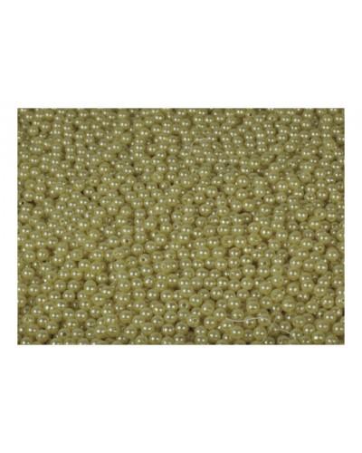 Koraliki 6mm jasnożółte