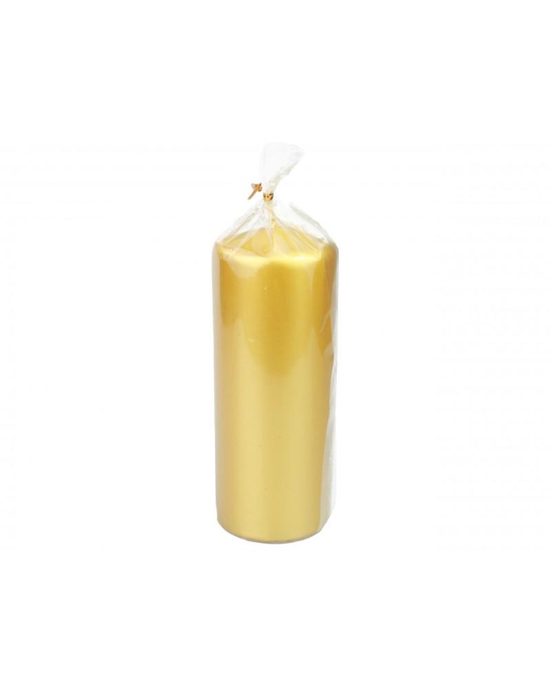 Świeca klubowa 15CM złota