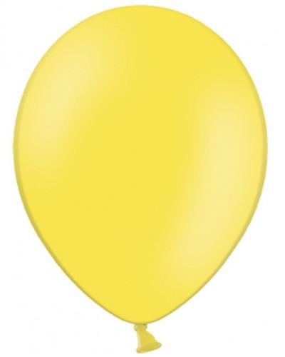 "Balony pastelowe 12"" Żółte"