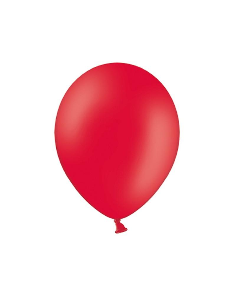 """Balony pastelowe 12"""" Czerwone"""