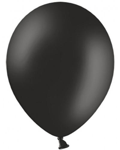 "Balony pastelowe 12"" Czarne"