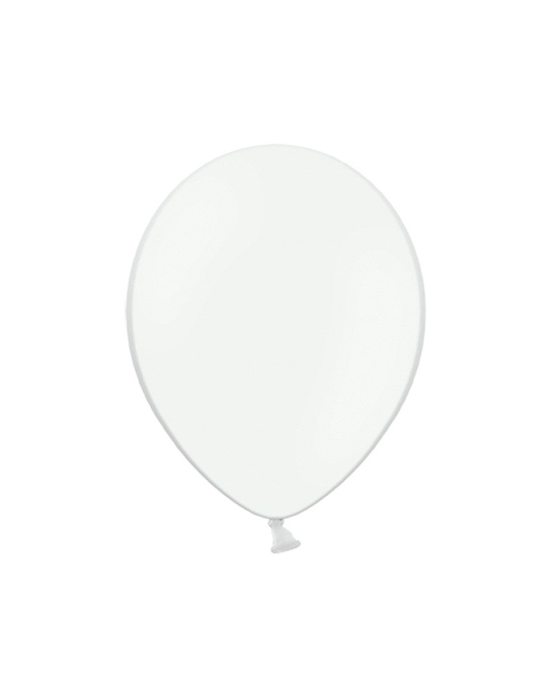 """Balony pastelowe 12"""" Białe"""
